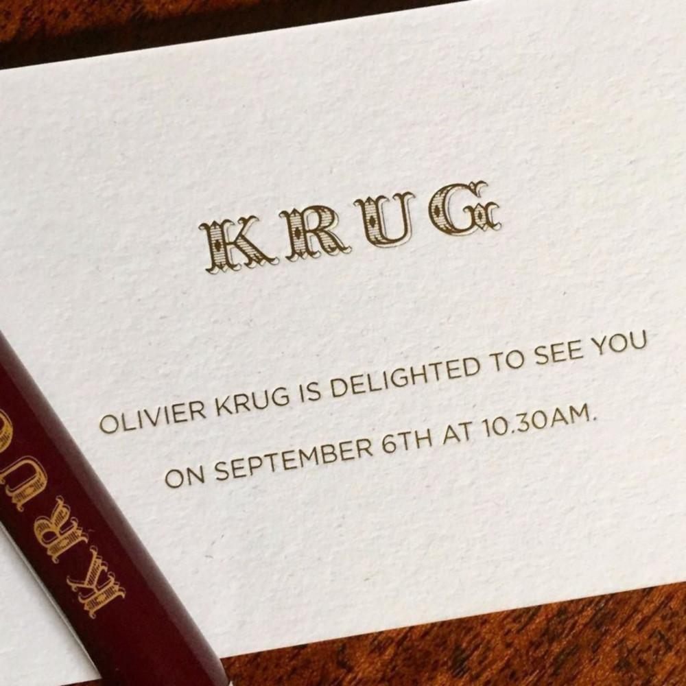 Krug invitation