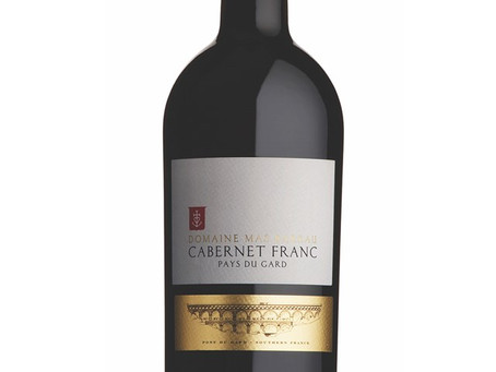 WINE OF THE WEEK: Domaine Mas Barrau Cabernet Franc 2014, Pays du Gard