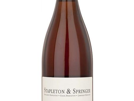 WINE OF THE WEEK: Stapleton & Springer Orange Pinot Noir 2014, Czech Republic
