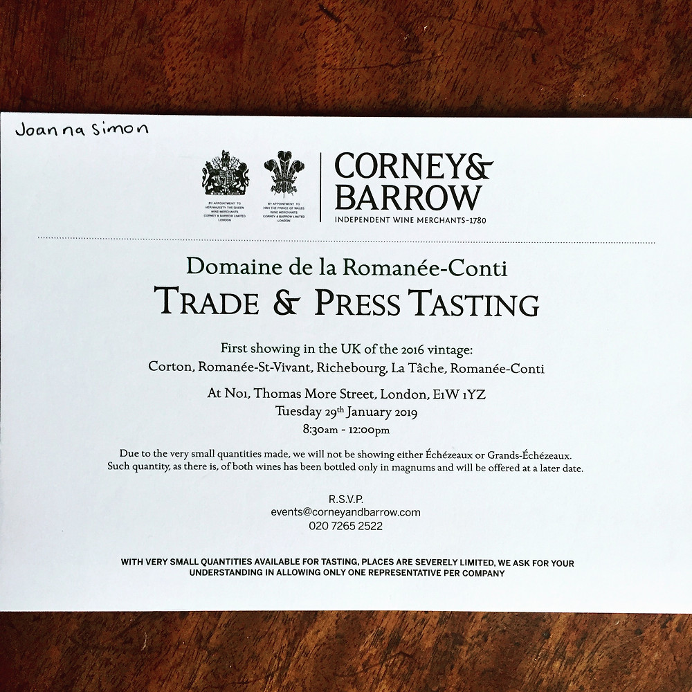 DRC invitation
