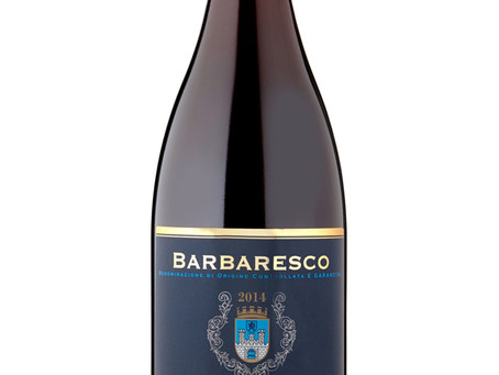 WINE OF THE WEEK: Taste the Difference Barbaresco 2014, Piedmont, Italy