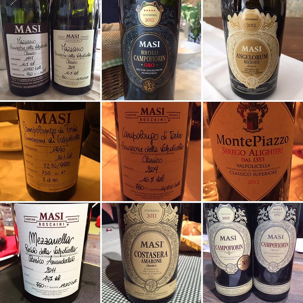 Masi Valpolicella wines