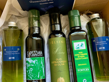 A Taste of Tuscany: First of the 2020 Extra Virgin Olive Oils