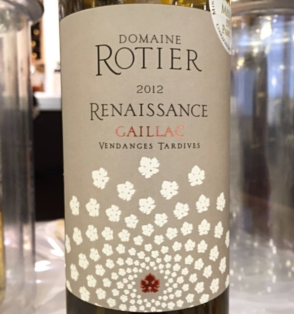 Rotir Vendanges Tardives