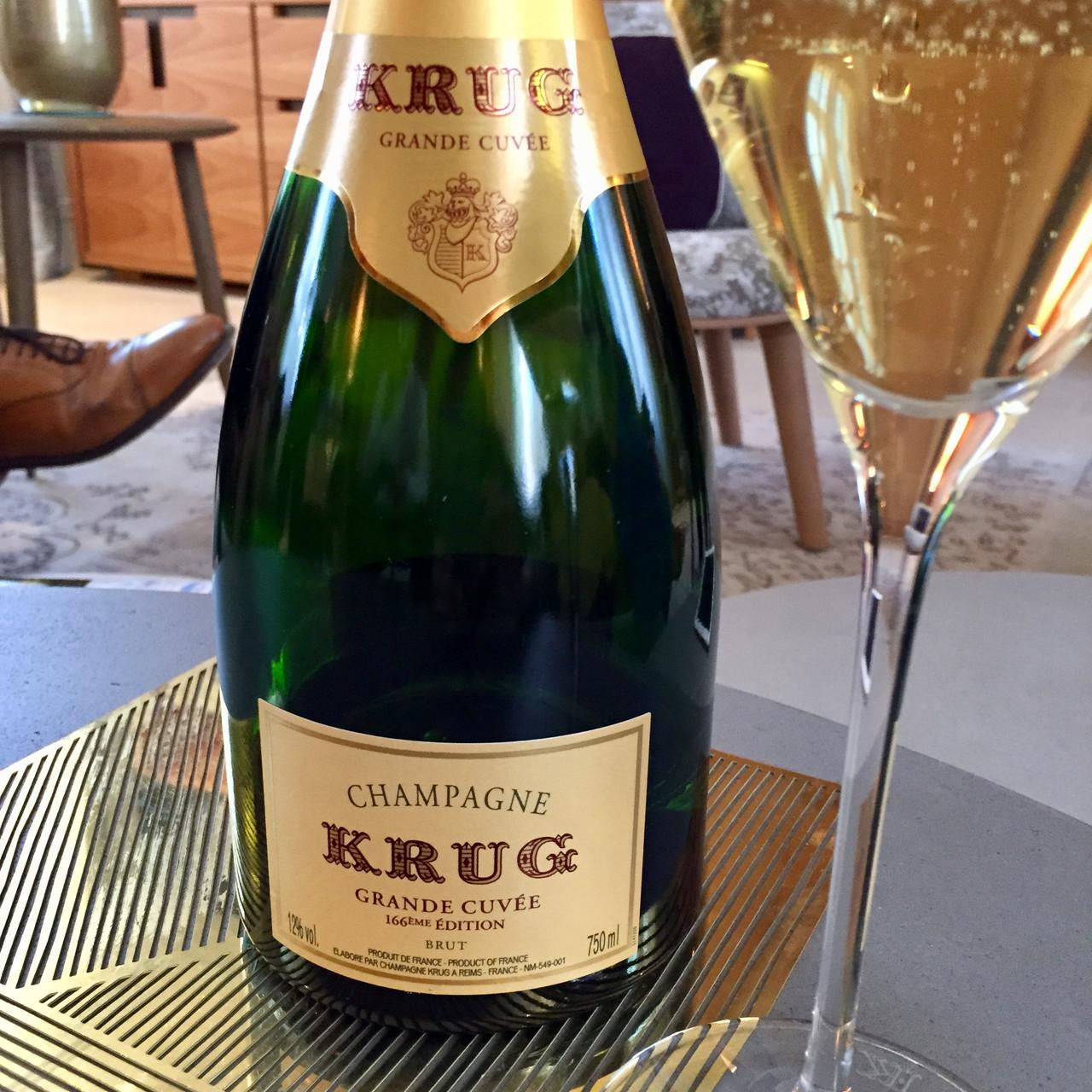 Krug Grande Cuvée 166th Edition and Krug Rosé 21st Edition Champagnes