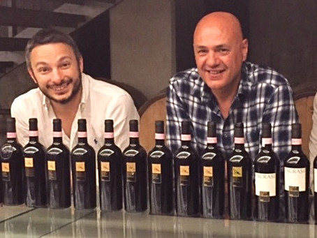 Age shall not wither them: 150-year-old Aglianico vines and a vertical tasting
