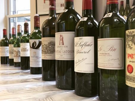 Ten Years On: tasting top Bordeaux 2007
