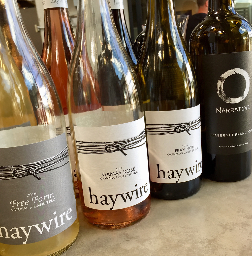 Haywire and Narrative wines