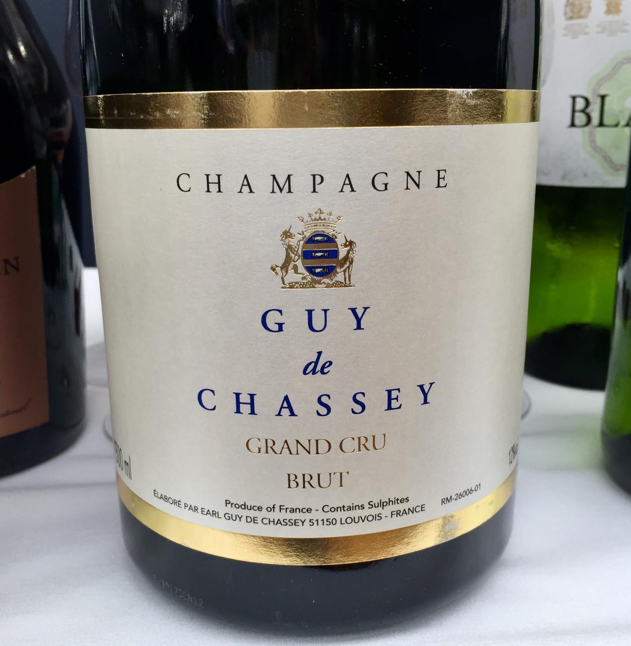 Guy de Chassey (magnum) and Gonet-Medeville Rosé Champagnes