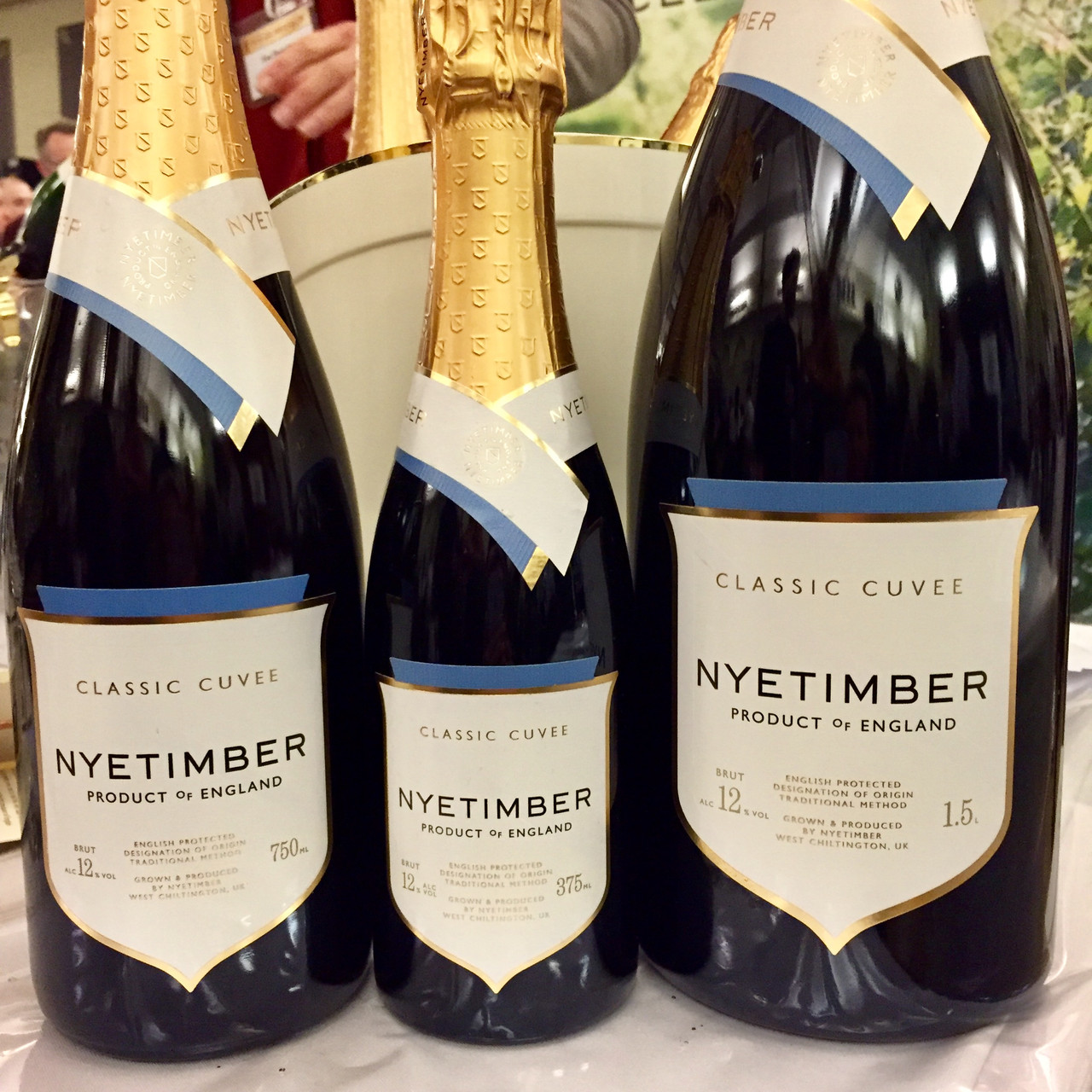 Nyetimber Classic Cuvée and Denbies Cubitt Blanc de Noirs 2013
