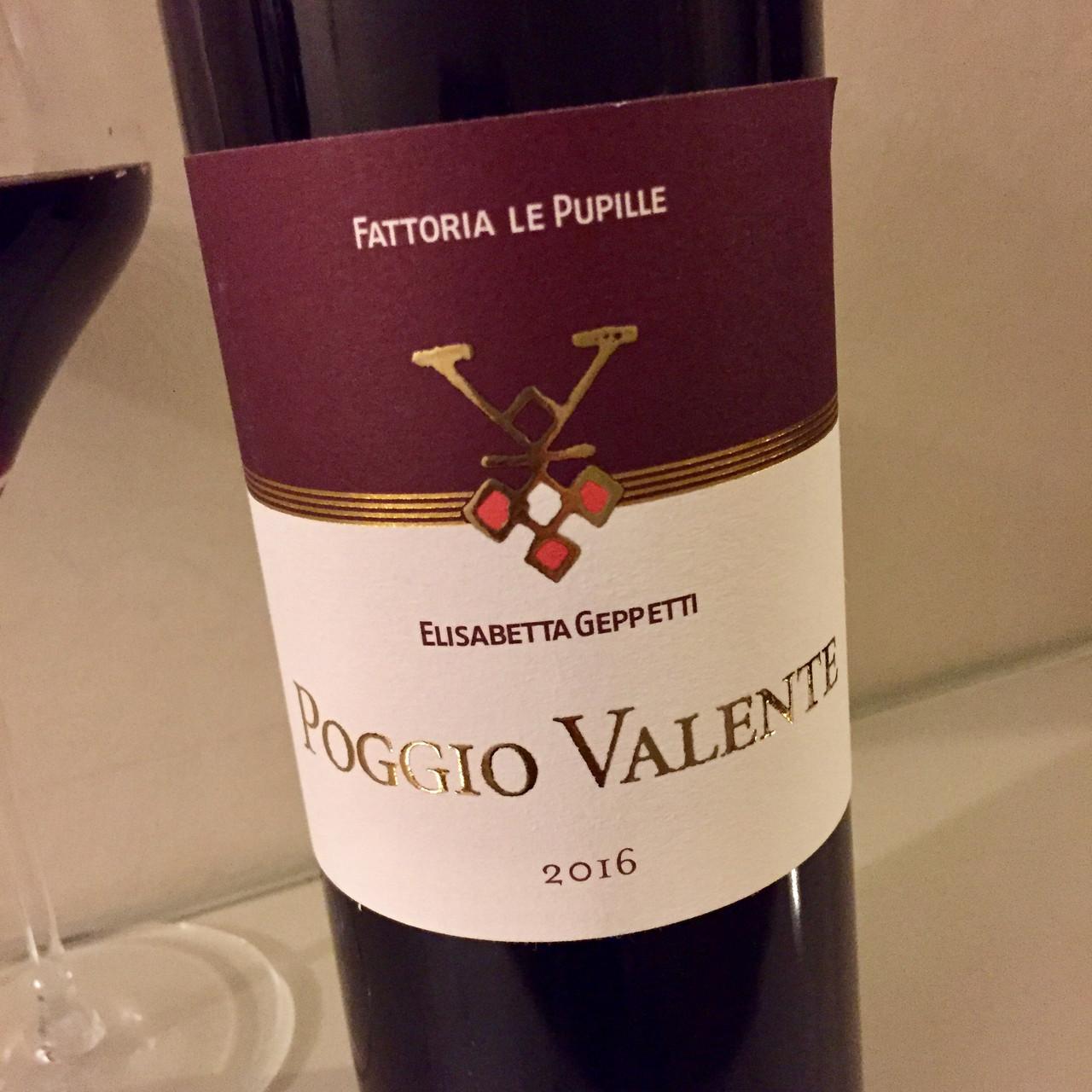 Poggio Valente from the Maremma and Le Serre Nuove dell'Ornellaia, 2nd wine of Ornellaia