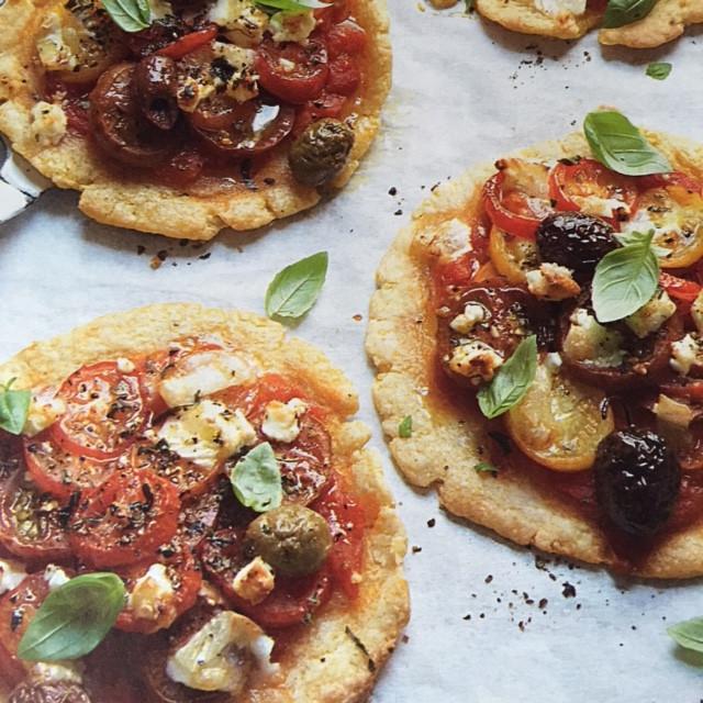 Mediterranean Tomato & Olive Tarts