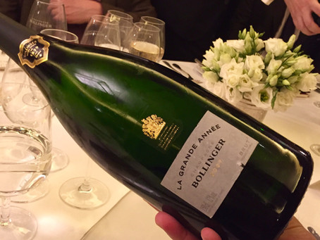 Return of the Bollinger Lunch: James Bond and vintage Champagne surprises