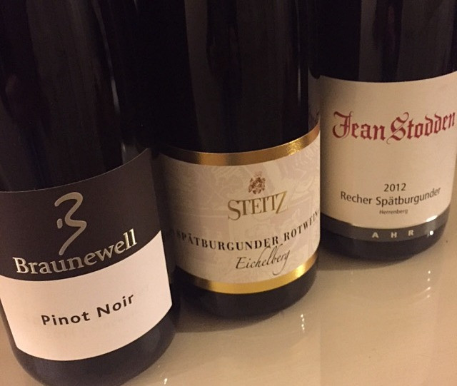 German Pinot Noirs