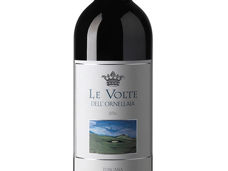 WINE OF WEEK: Le Volte dell'Ornellaia 2016, Toscana, Italy