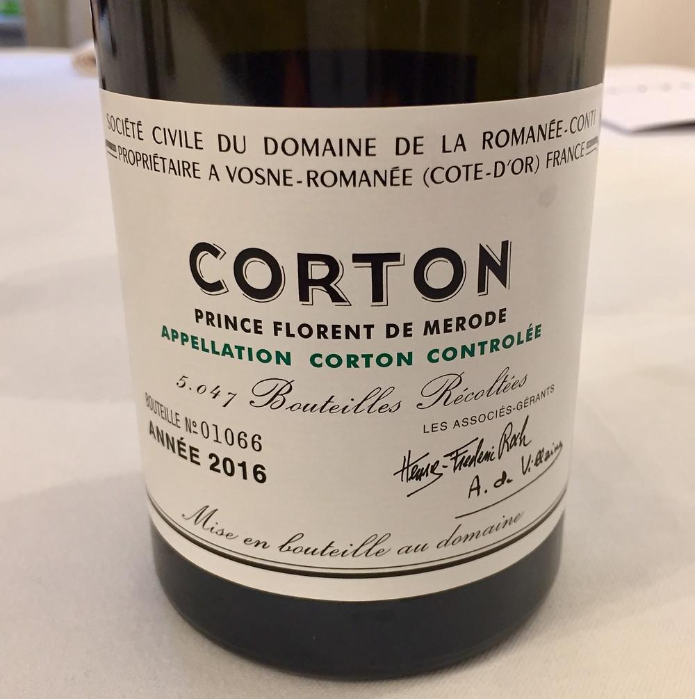DRC Corton