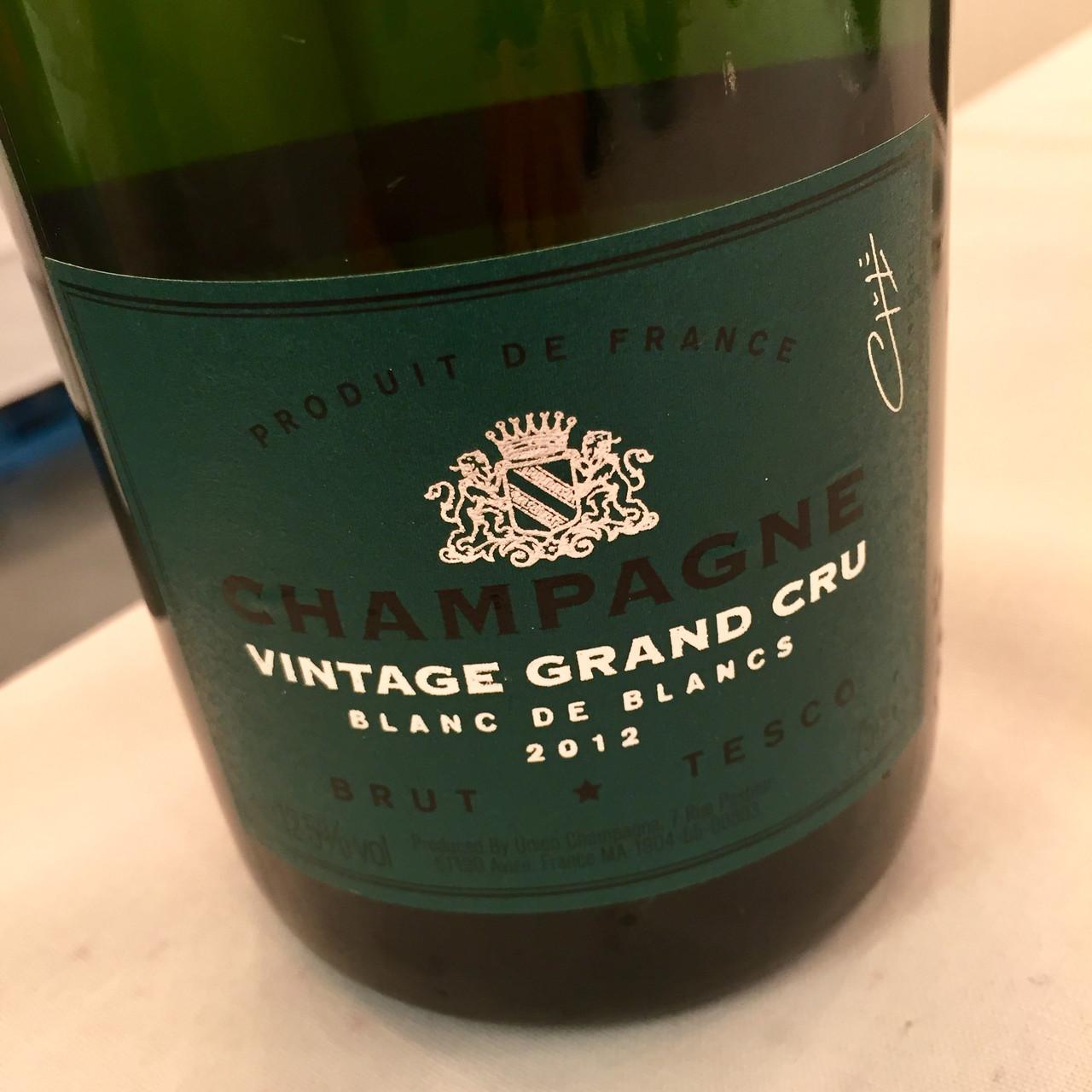 Tesco Vintage Grand Cru and Piper-Heidsieck Champagnes