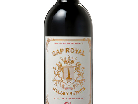 WINE OF THE WEEK: Cap Royal Bordeaux Supérieur 2016, France