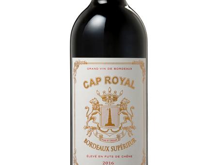 WINE OF THE WEEK: Cap Royal Bordeaux Supérieur 2016, France