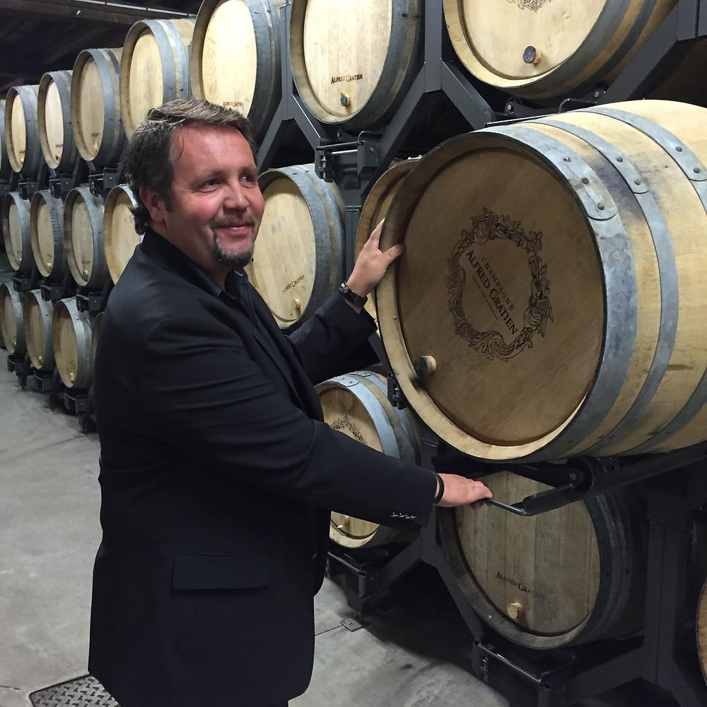 Champagne Alfred Gratien chef de cave Nicolas Jaeger