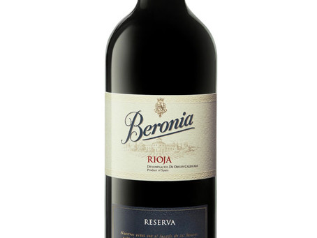 WINE OF THE WEEK: Beronia Rioja Reserva 2011, Spain