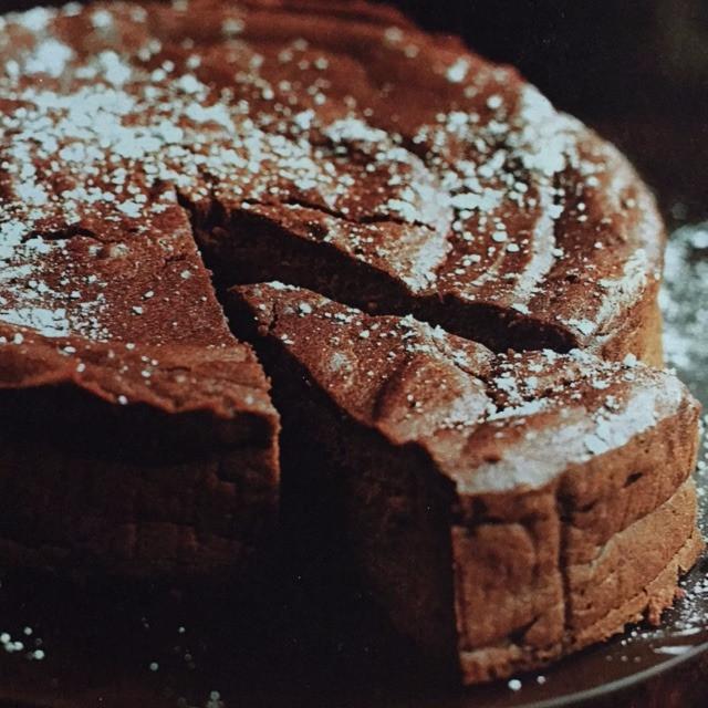 Chesnut Chocolate Cake