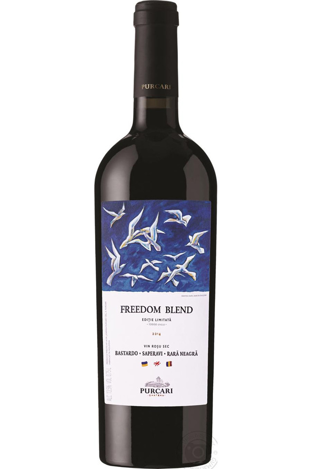 Purcari Freedom Blend wine