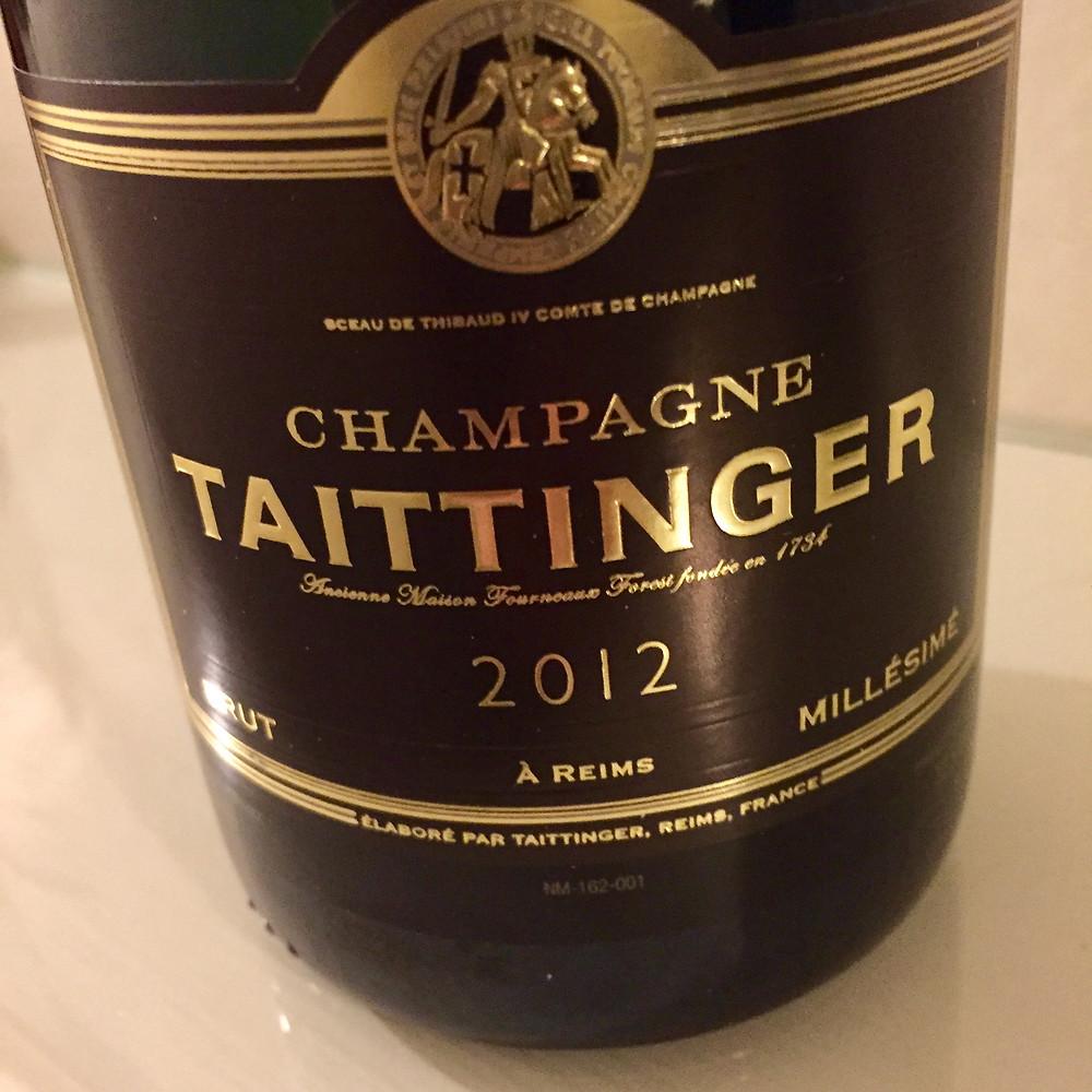 Champagne Taittinger 2012