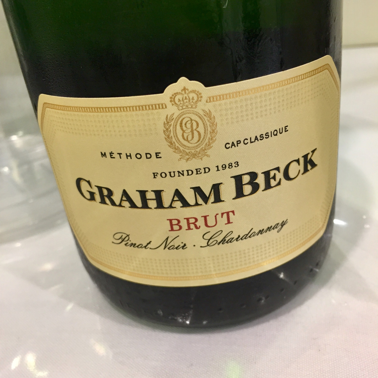 Graham Beck Brut and Tesco Franciacorta