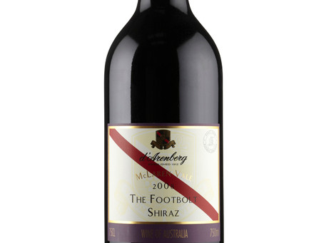 WINE OF THE WEEK: d'Arenberg The Footbolt Shiraz 2017, McLaren Vale Australia
