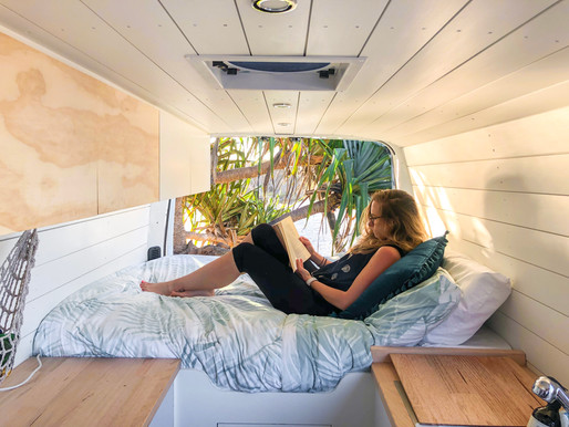 Got an old tradie van? Here's how to convert it into the glorious van of your dreams | Bells Beach B