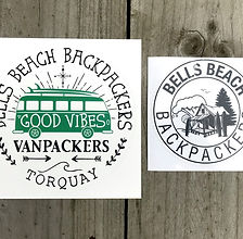 Bells Beach Backpackers Merchandise Stic