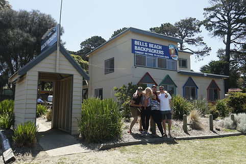 Bells Beach Backpackers Front Building v