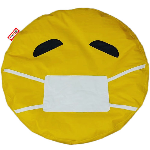 Sillon Puff Emoji Safe. Ideal Para Personas De Hasta 70 Kg