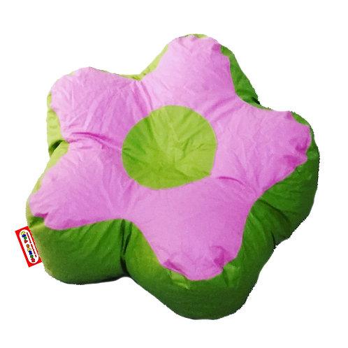 Sillon Puff Flor Chico. Ideal Para Peques De Hasta 30 Kg