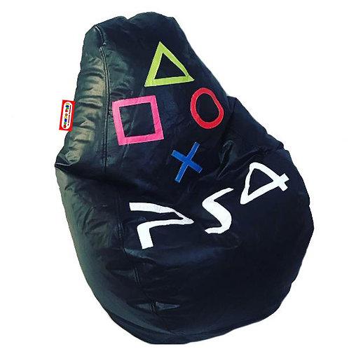 Sillon Puff Pera Gamer Mediano PS4. Soporta Hasta 70 Kilos