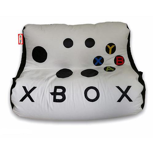 Puff Sillon Frijolito Doble Gamer Xbox Soporta hasta 150 kgs.