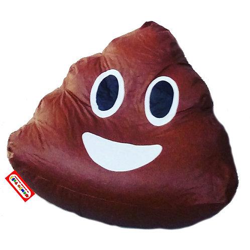 Sillon Puff Emoji Popo o Caquita. Ideal Para Personas De Hasta 70 Kg