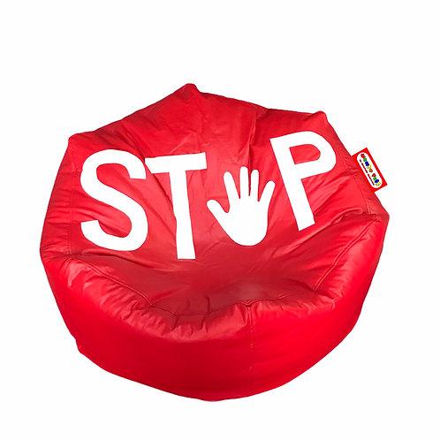 Sillon Puff Stop, Ideal Para Personas De Hasta 70 Kg