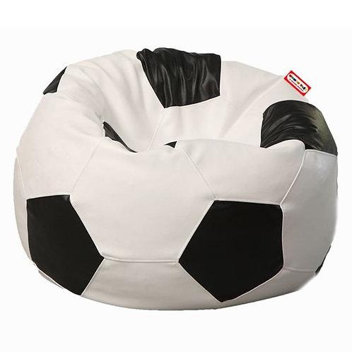 Sillon Puff Balon Futbol Soccer Grande. Ideal Para Personas De Hasta 100 Kg