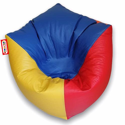 Sillon Puff Cubo Grande Colores. Para Personas De Hasta 100 Kilos de peso