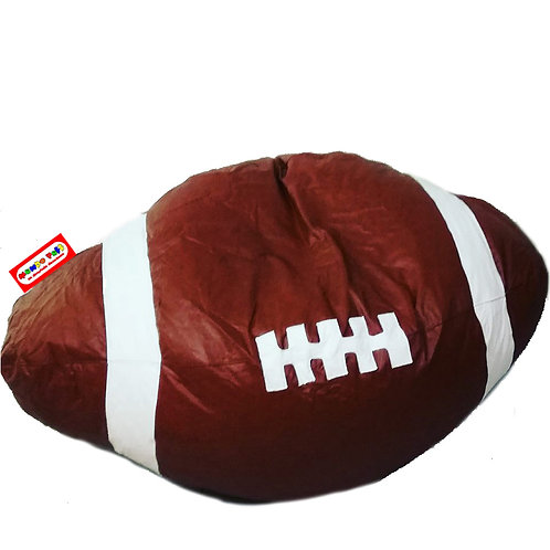 Sillon Puff Balon Futbol Americano Grande. Ideal Para Personas De Hasta  Kg