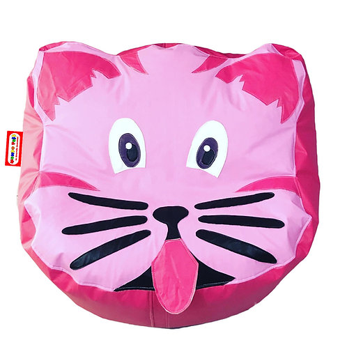 Sillon Puff Gato. Ideal Para Personas De Hasta 75 Kg
