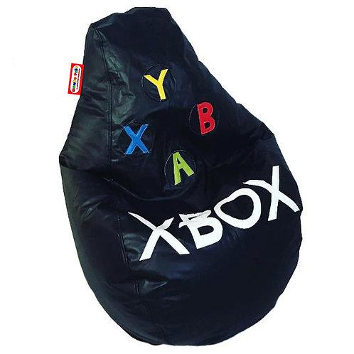 Sillon Puff Pera Gamer Grande Xbox. Soporta Hasta 100 Kilos