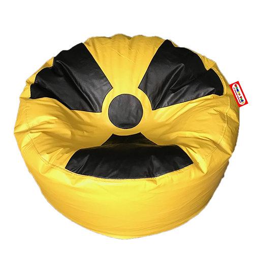 Sillon Puff Radioactivo, Ideal Para Personas De Hasta 80 Kg