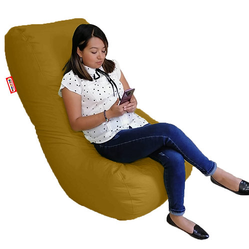 Puff Frijol, sillon y divan en 1. Para Personas De Hasta 110 Kilos