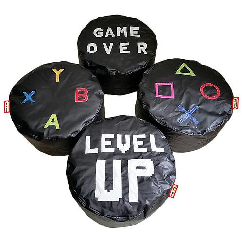 Combo Gamer Kids. 4 Piezas 70 cm de diametro x 35 cm ancho