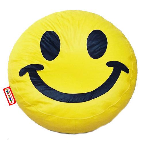 Sillon Puff Emoji Happy Face. Ideal Para Personas De Hasta 70 Kg