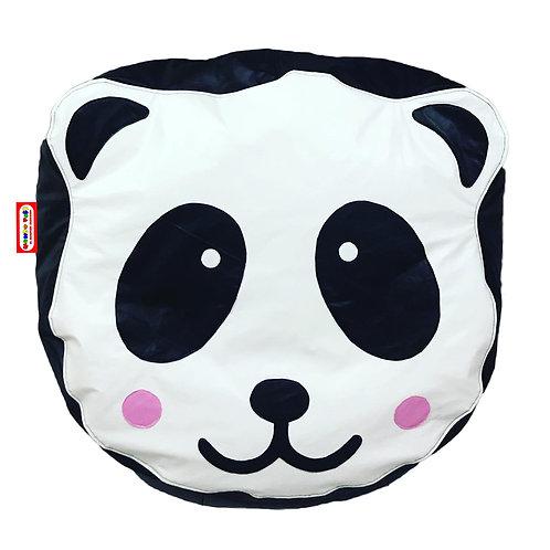 Sillon Puff Oso Panda. Ideal Para Personas De Hasta 70 Kg