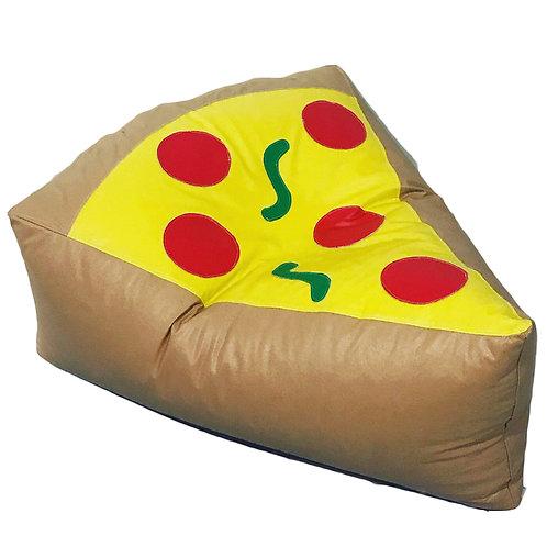 Sillon Puff Pizza. Ideal Para Personas De Hasta 70 Kg